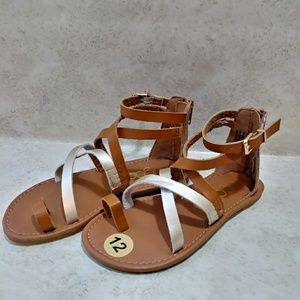 Sugar Girls Gladiator Sandals sz 12